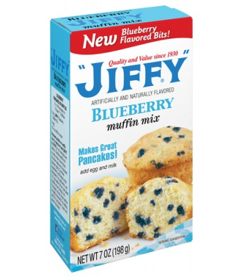 Jiffy Blueberry Muffin Mix 7oz (198g) Baking & Cooking Jiffy