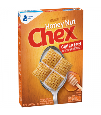 Honey Nut Chex Cereal Box 12.5oz (354g)