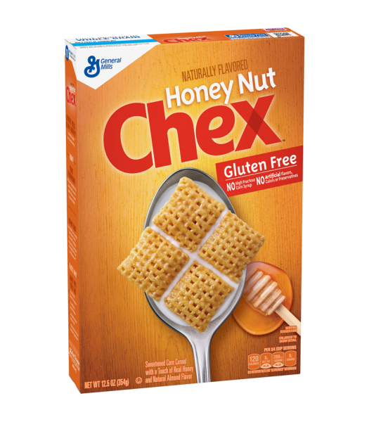 Honey Nut Chex Cereal Box 12.5oz (354g) Food and Groceries General Mills