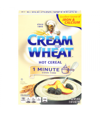 Cream of Wheat Hot Cereal - 1 Minute Cook Time - 28oz (794g)