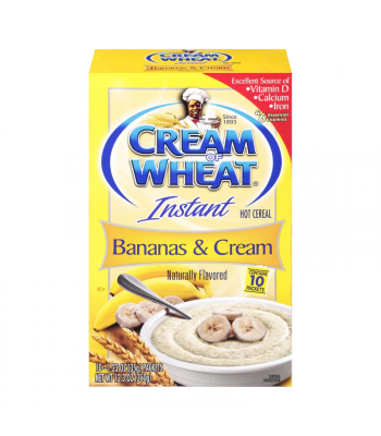 Cream of Wheat Instant Bananas & Cream - 12.3oz (350g) Food and Groceries