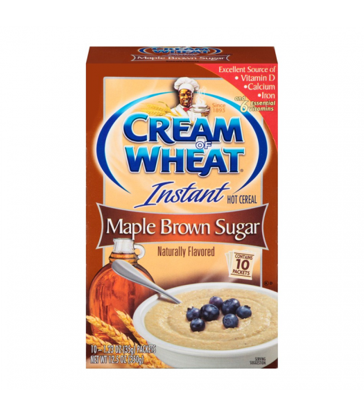 Cream of Wheat Instant Maple Brown Sugar - 12.5oz (350g) Food and Groceries