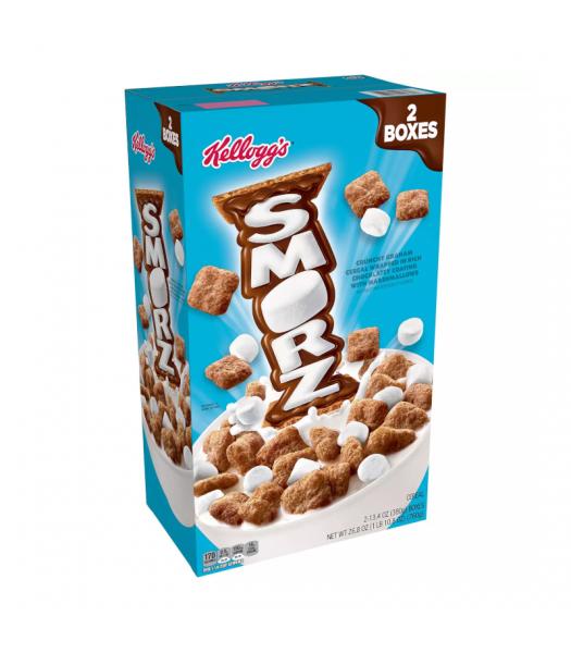 Kellogg's Smorz Cereal - Double Box - 26.8oz (760g) Food and Groceries Kellogg's