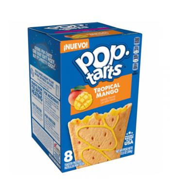 Pop Tarts Tropical Mango 8-Pack - 13.5oz (384g) Food and Groceries Pop Tarts