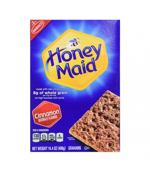 Nabisco Honey Maid Cinnamon Grahams Crackers - 14.4oz (408g) Food and Groceries Nabisco