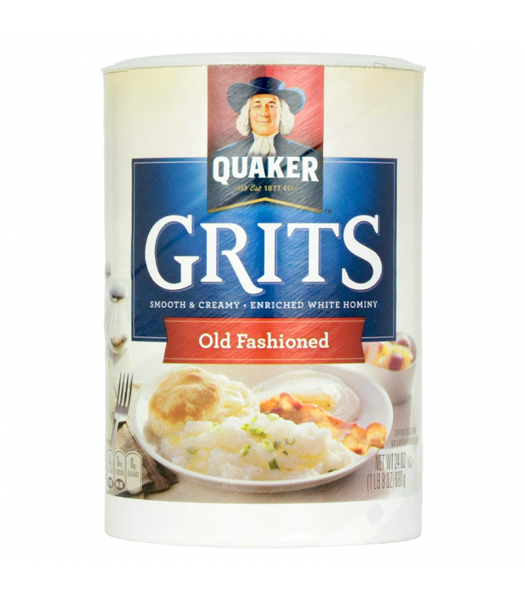 Quaker Old Fashioned Grits - 24oz (680g) Food and Groceries Quaker