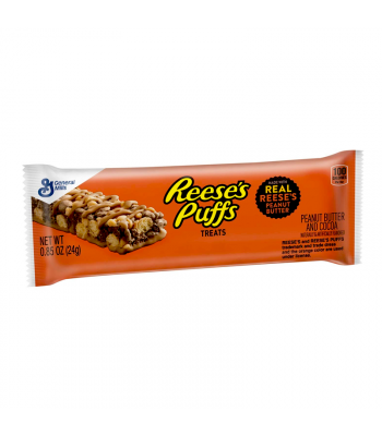 Reese's Puffs Treats Cereal Bar - 0.85oz (24g) Chocolate, Bars & Treats Reese's