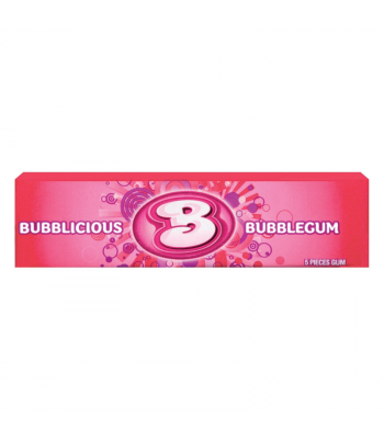 Bubblicious Original Bubble Gum 1.4oz (40g) Bubble Gum Bubblicious