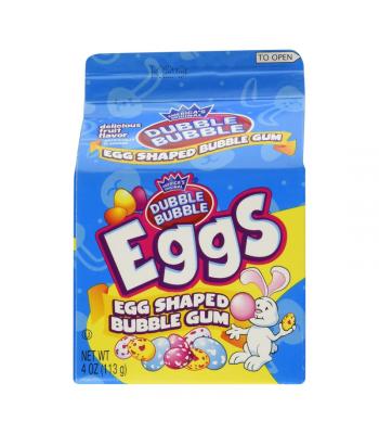 Concord Dubble Bubble Easter Egg Carton 4oz (113g) Sweets and Candy Dubble Bubble