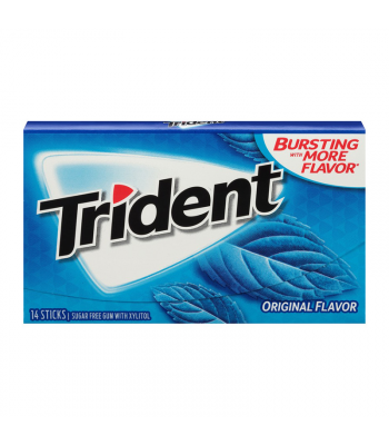 Trident Gum Original 14pc Sweets and Candy Trident