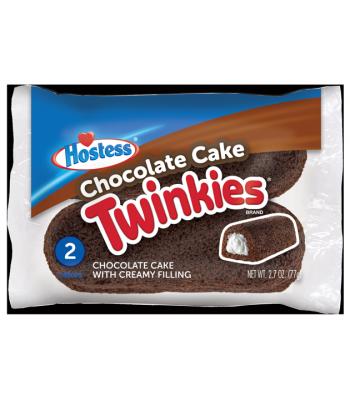 Hostess Chocolate Cake Twinkies - Twin Pack - 2.7oz (77g)