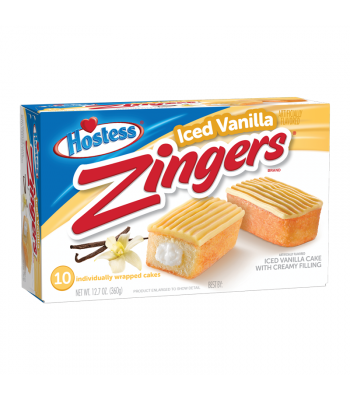 Hostess Zingers Vanilla 10-Pack 12.7oz (360g)
