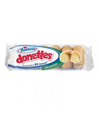 Hostess Glazed Donettes - 3.7oz (105g) Cookies and Cakes Hostess