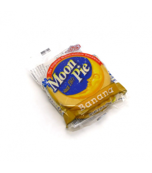 Moon Pie Banana Double Decker 78g Snack Cakes Moon Pie