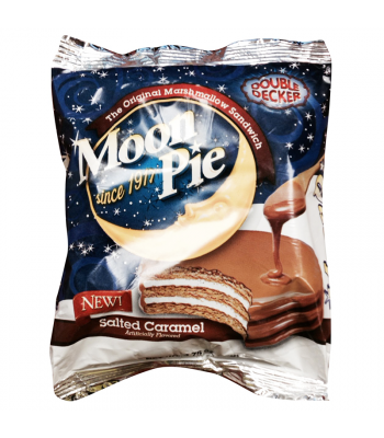 Moon Pie Salted Caramel Double Decker 2.75oz (78g) Snack Cakes Moon Pie