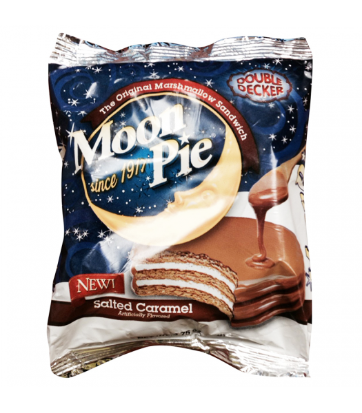 Clearance Special - Moon Pie Salted Caramel Double Decker 2.75oz (78g) **Best Before: 05 January 18** Clearance Zone