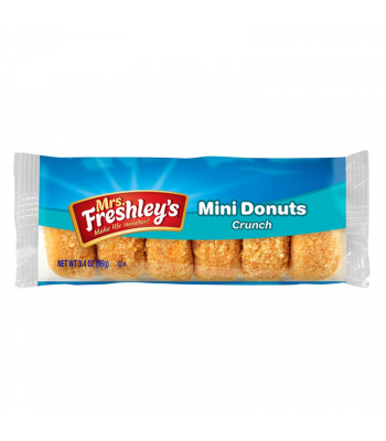 Mrs Freshley's Crunch Mini Donuts 3.4oz (96g) Donuts Mrs Freshley's