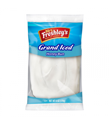 Mrs Freshley's Grand Iced Honey Bun - 6oz (170g) Food and Groceries Mrs Freshley's