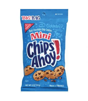 Chips Ahoy Mini Bag 3oz (85g) Cookies & Biscuits Chips Ahoy!