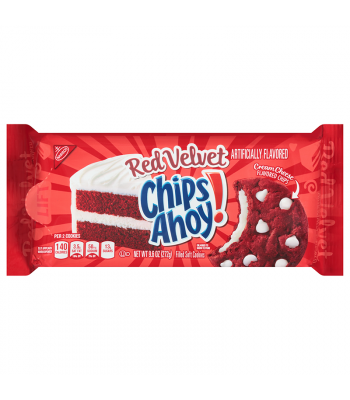Clearance Special - Chips Ahoy! Red Velvet Filled Soft Cookies - 9.6oz (272g) **Best Before: 13 November 20** Clearance Zone