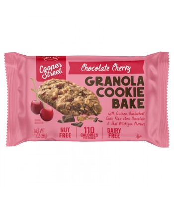 Cooper Street - Chocolate Cherry Granola Cookie Bake - 1oz (28g) Cookies & Biscuits Cooper Street