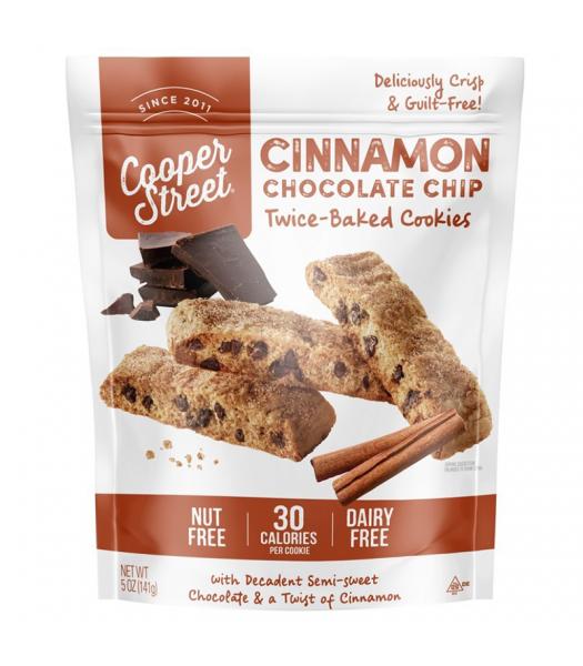 Cooper Street - Cinnamon Chocolate Chip Twice-Baked Cookies - 5oz (141g) Cookies & Biscuits Cooper Street