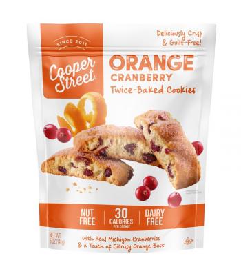Cooper Street - Orange Cranberry Twice-Baked Cookies - 5oz (141g) Cookies & Biscuits Cooper Street