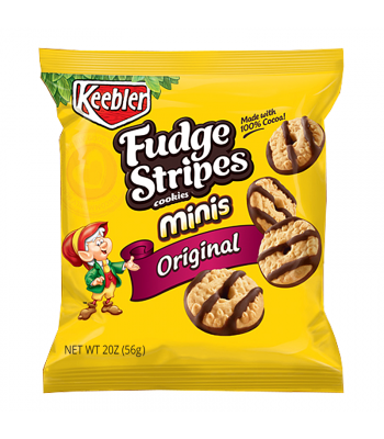 Keebler Fudge Stripes Cookies Minis Original 2oz (56g)