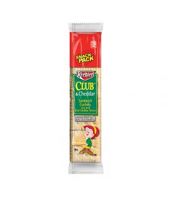 Keebler Club & Cheddar Sandwich Crackers Snack Pack - 1.8oz (51g)