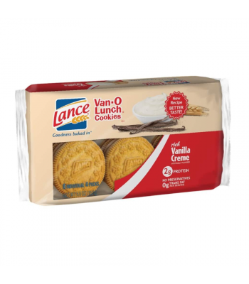 Lance Van-O Lunch Cookies Vanilla - 6.6oz (187g) Cookies and Cakes Keebler