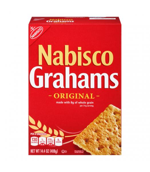 Nabisco Grahams Crackers 14.4oz (408g) Crackers Nabisco