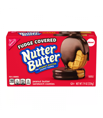 Nabisco Nutter Butter Fudge Covered Cookies - 7.9oz (224g) Food and Groceries Nabisco