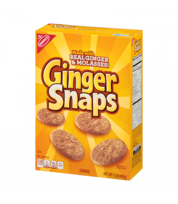 Clearance Special - Nabisco Old Fashioned Ginger Snaps - 16oz (453g) **Best Before: 20 August 21** Clearance Zone