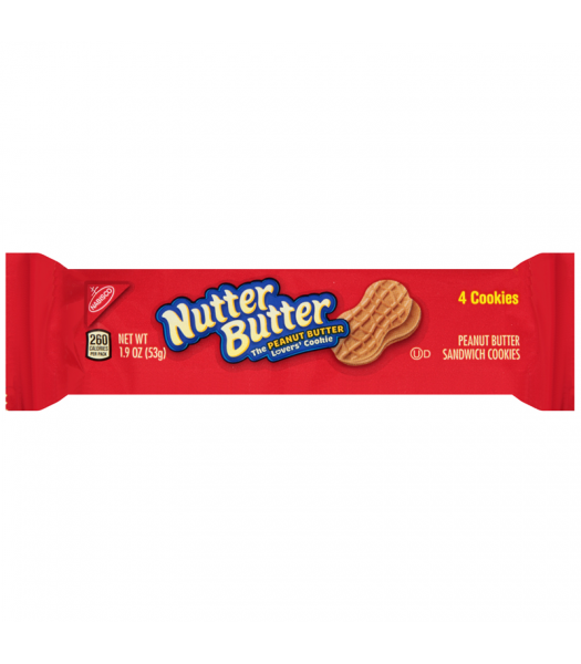 Nutter Butter Snack Pack 1.9oz (56g) Cookies and Cakes Nutter Butter