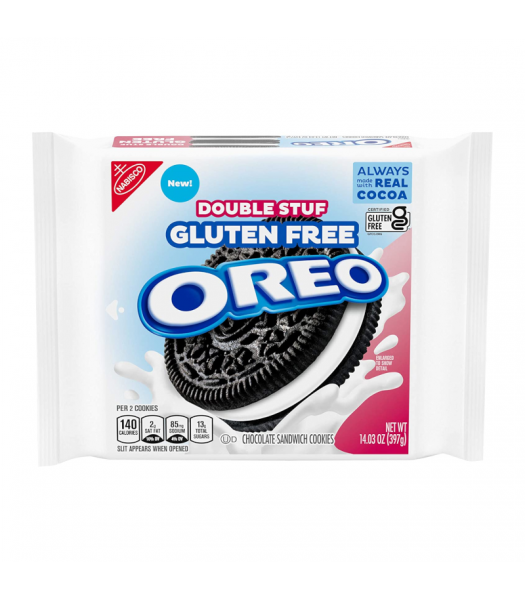 Clearance Special - Oreo Gluten Free Double Stuf Cookies - 14.03oz (397g) **Best Before: 27 October 21** Clearance Zone