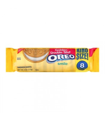 Oreo Golden Double Stuf King Size 4oz Cookies and Cakes Oreo