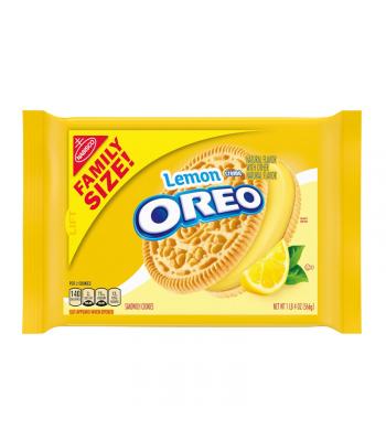 Oreo Lemon Family Size - 20oz (566g) Cookies and Cakes Oreo