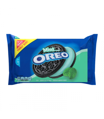 Oreo Mint Family Size - 20oz (566g) Cookies and Cakes Oreo
