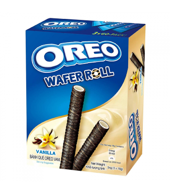 Oreo Vanilla Wafer Rolls (54g)