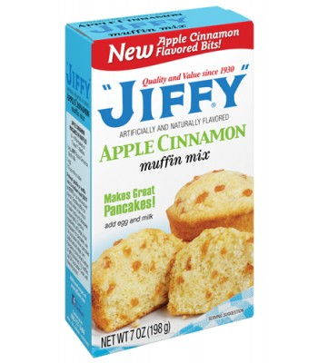 Jiffy Apple & Cinnamon Muffin Mix 7oz (198g) Food and Groceries Jiffy