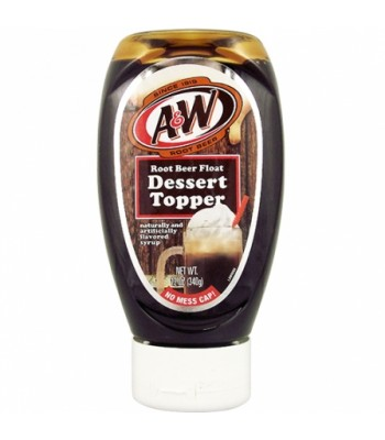 A&W Root Beer Float Dessert Topper - 12oz (340g) Syrups & Toppings A&W