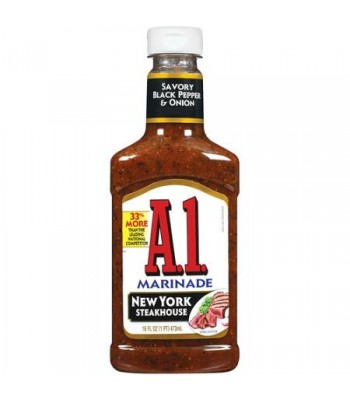 A1 New York Steakhouse Marinade - 454g Sauces & Condiments A1