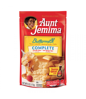Aunt Jemima Buttermilk Complete Pancake Mix 6oz (170g) Food and Groceries Aunt Jemima