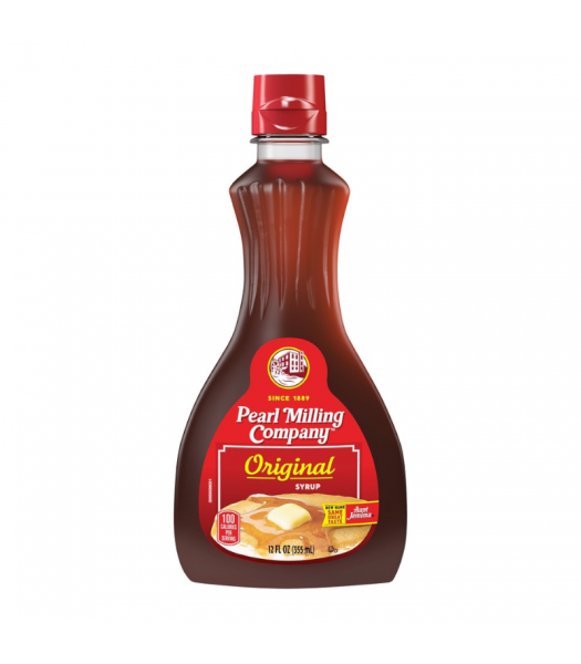 Pearl Milling Company Original Pancake Syrup - 12oz (355ml) Food and Groceries Aunt Jemima