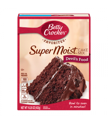 Betty Crocker Favorites Super Moist Devil's Food Cake Mix - 15.25oz (432g) Food and Groceries Betty Crocker