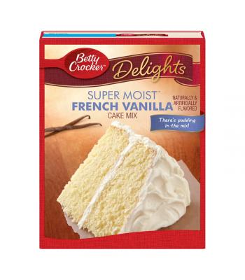 Betty Crocker Delights Super Moist French Vanilla Cake Mix - 15.25oz (432g)