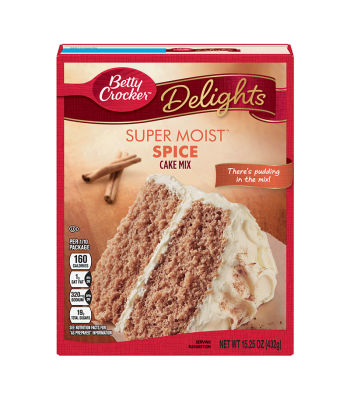 Betty Crocker Super Moist Spice Cake Mix - 15.25oz (432g)
