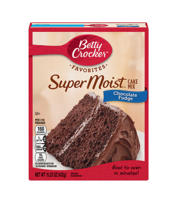 Betty Crocker Favorites Super Moist Chocolate Fudge Cake Mix - 15.25oz (432g) Food and Groceries Betty Crocker