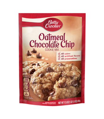 Clearance Special - Betty Crocker Oatmeal Chocolate Chip Cookie Mix - 17.5oz (496g) **Best Before: 29 October 21**