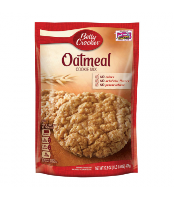 Betty Crocker Oatmeal Cookie Mix - 17.5oz (496g) Food and Groceries Betty Crocker